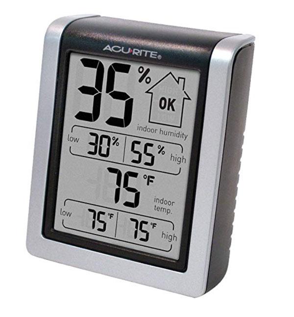 เครื่องวัดอุณหภูมิและความชื้นแบบดิจิตอล-AcuRite-00613