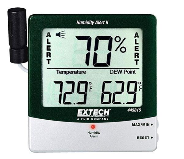 เครื่องวัดอุณหภูมิและความชื้นแบบดิจิตอล-Extech-445815