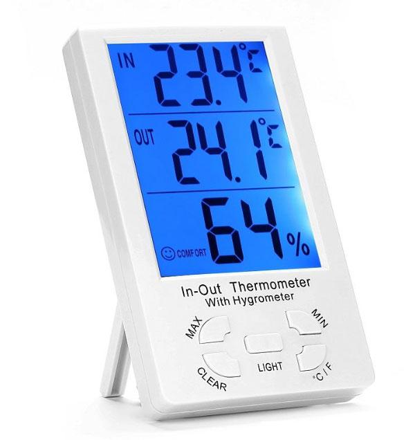 เครื่องวัดอุณหภูมิและความชื้นแบบดิจิตอล-KT-905