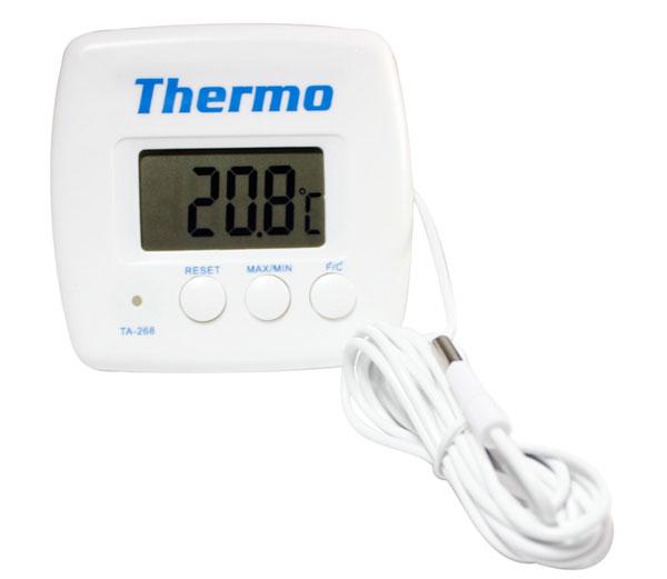 เครื่องวัดอุณหภูมิและความชื้นแบบดิจิตอล-KTJ-TA-268