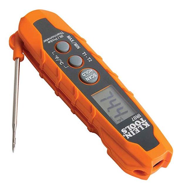 เครื่องวัดอุณหภูมิและความชื้นแบบดิจิตอล-Klein-Tools-IR07-Dual