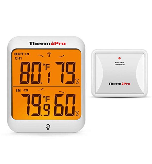 เครื่องวัดอุณหภูมิและความชื้นแบบดิจิตอล-ThermoPro-TP63A