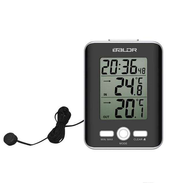 เครื่องวัดอุณหภูมิและความชื้นแบบดิจิตอล-baldr