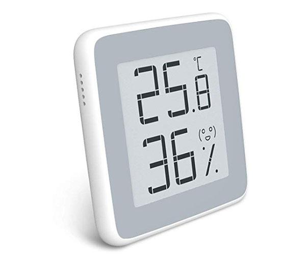 เครื่องวัดอุณหภูมิและความชื้นแบบดิจิตอลXiaomi-Mijia-360°HD-E-Ink