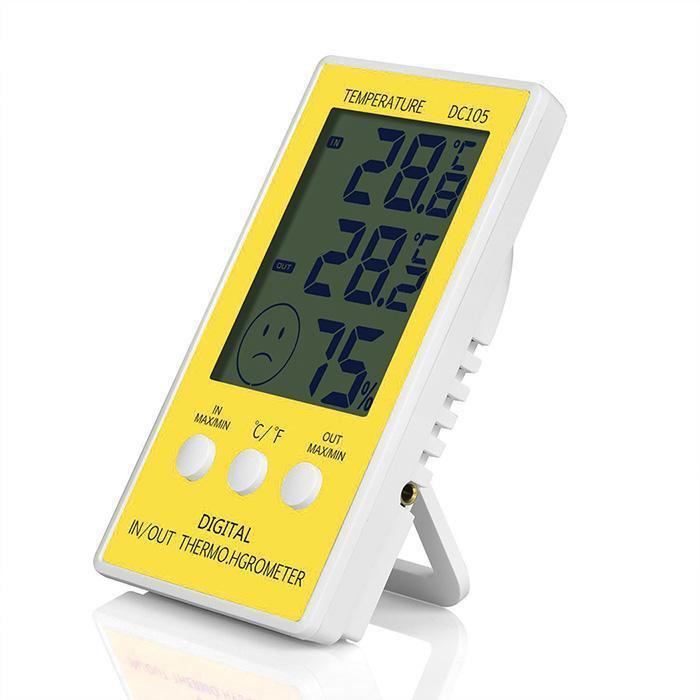 เครื่องวัดอุณหภูมิและความชื้นแบบดิจิตอลDC105