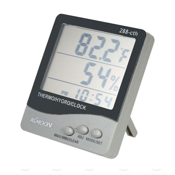 เครื่องวัดอุณหภูมิและความชื้นแบบดิจิตอล-KKmoon-288-cth