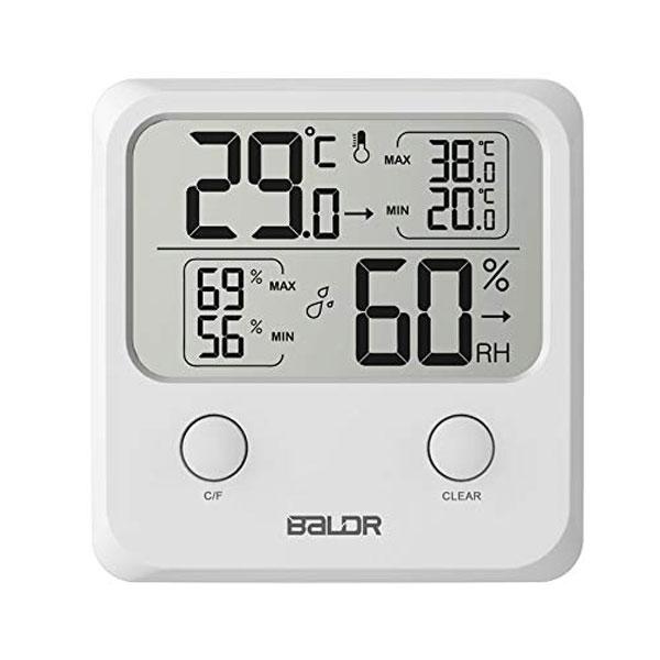 เครื่องวัดอุณหภูมิและความชื้นแบบดิจิตอล-Baldr-B0335TH