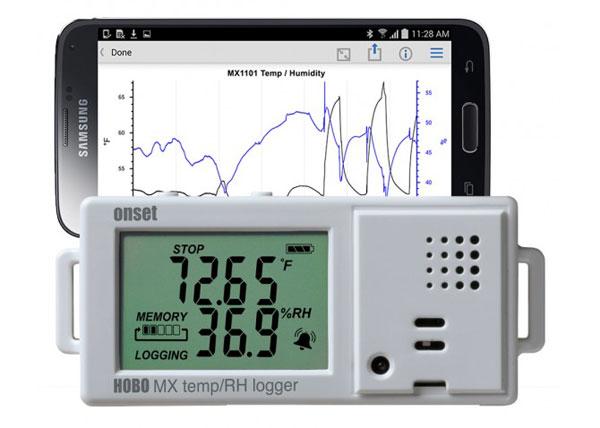Data logger Hobo MX1101